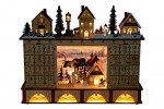 Clever Creations Traditional LED Wooden Advent Calendar  – detail 5