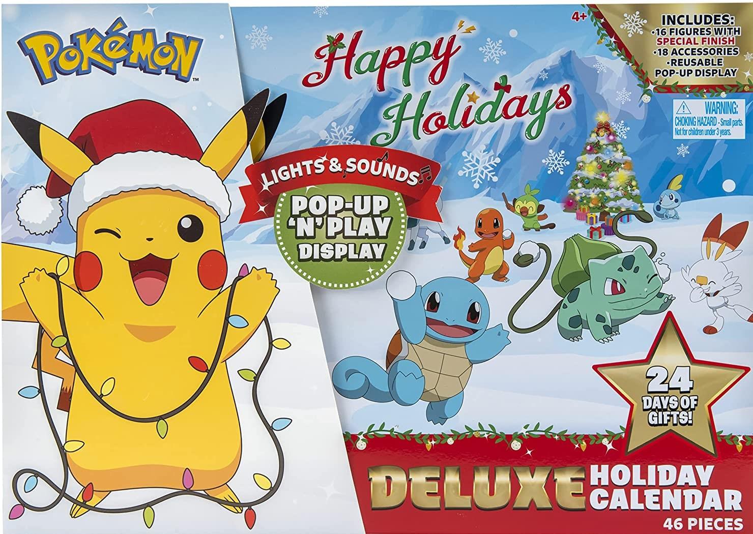 Pokémon Deluxe Adventskalender