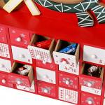 Contents: Sunnyglade Christmas Wooden Advent Calendar