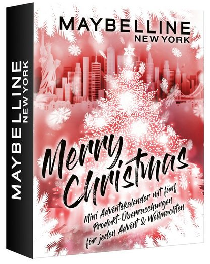 MAYBELLINE NEW YORK Adventskalender 2021