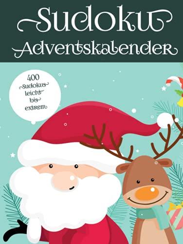Sudoku Adventskalender: Rätsel Kalender zu Weihnachten