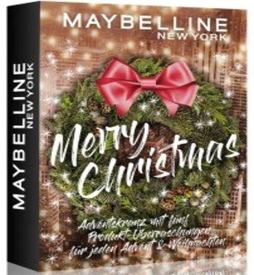 Maybelline Adventskranz Mini
