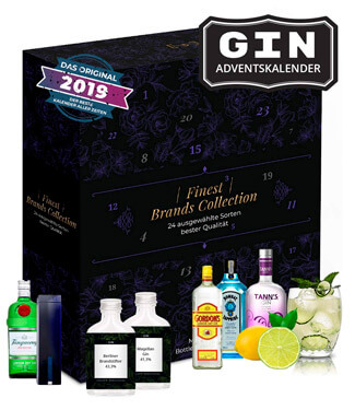 BOXILAND GIN ADVENTSKALENDER 2019