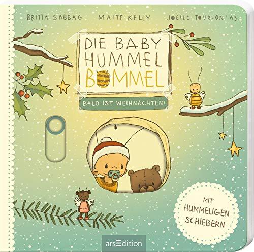 Die Baby Hummel Bommel - Bald ist Weihnachten: Ein allererstes Weihnachtsbuch zum Entdecken mit Schiebern, für Kinder ab 12 Monaten