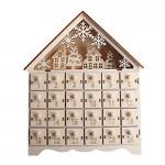 Contents: QERMULA Christmas Wooden Advent Calendar