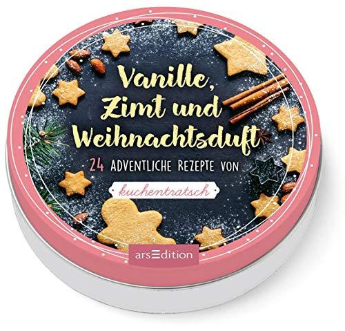 Vanille, Zimt und Weihnachtsduft. 24 adventliche Rezepte von Kuchentratsch: Adventskalender in dekorativer Dose