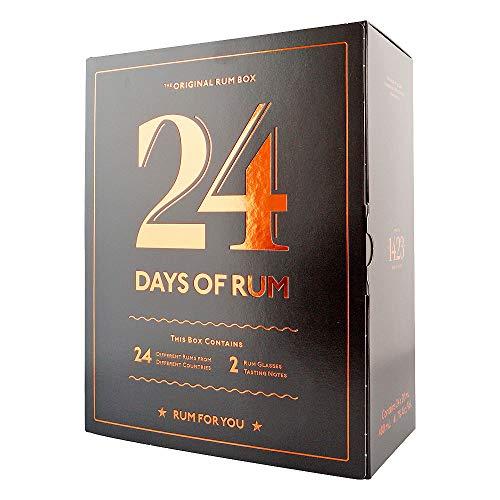 Rum Adventskalender 24 Days of Rum inkl. 2 Tumbler