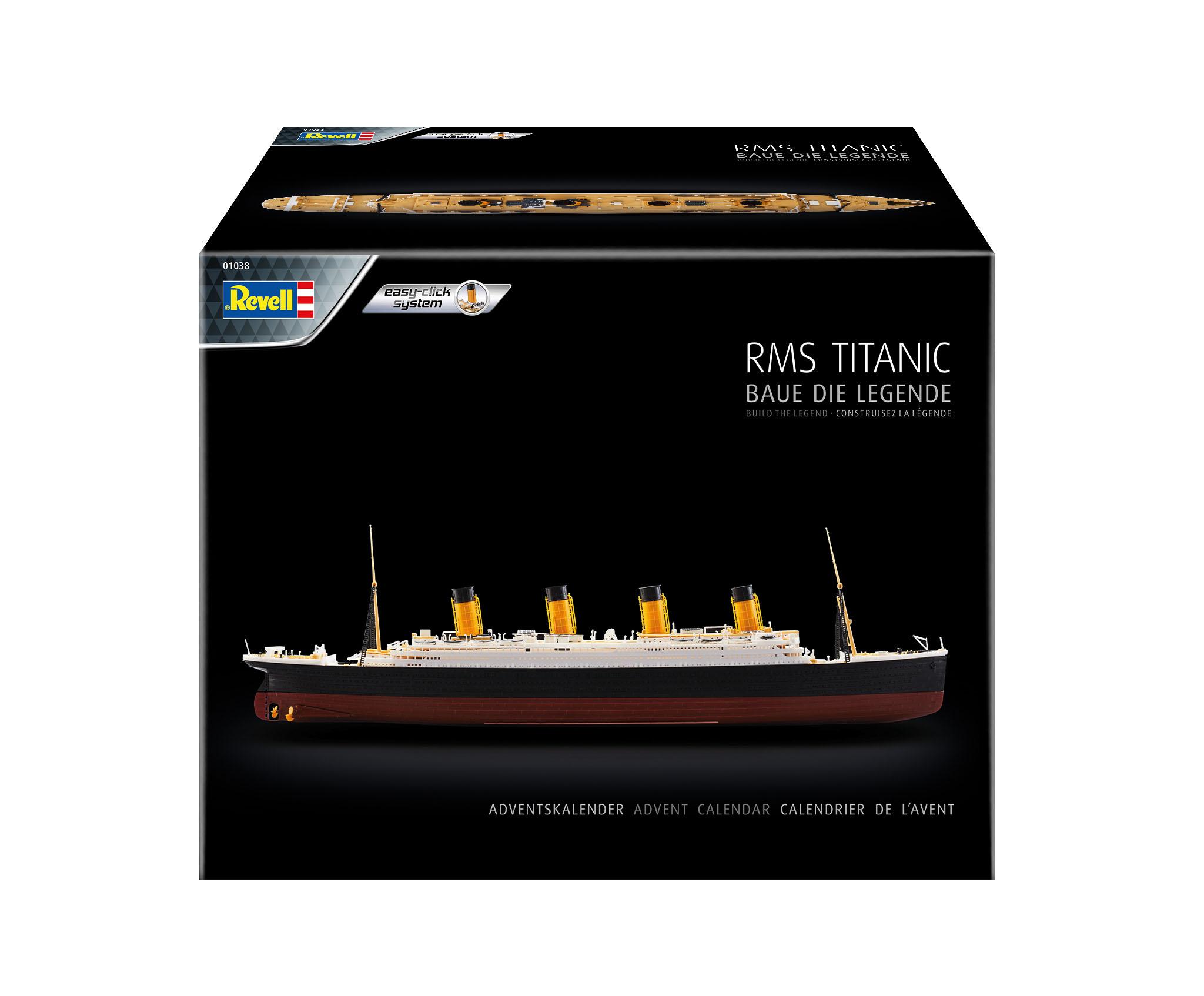 Revell - Adventskalender RMS Titanic 2021