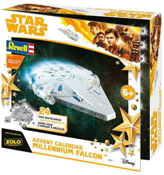 amazon Revell Star Wars Han Solo Adventskalender 2018