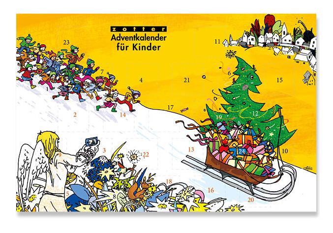 Zotter Adventskalender für Kinder