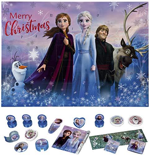 familie24 Adventskalender Schreibwaren Auswahl Advent Kalender (Frozen - Die Eiskönigin)