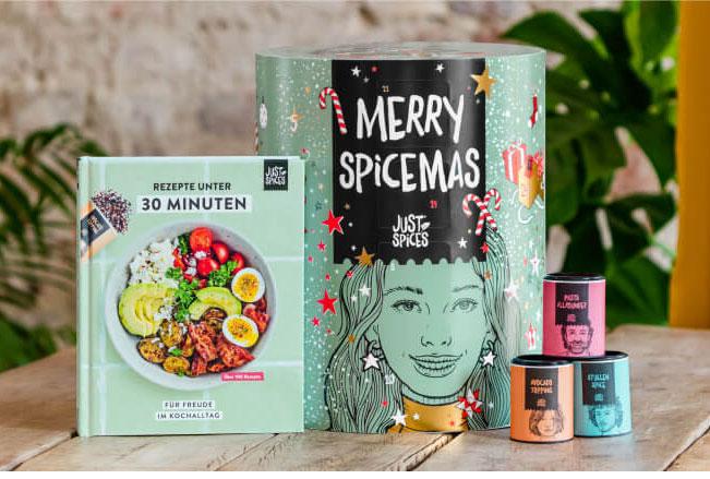 Just Spices Großer Gewürz-Adventskalender 2021