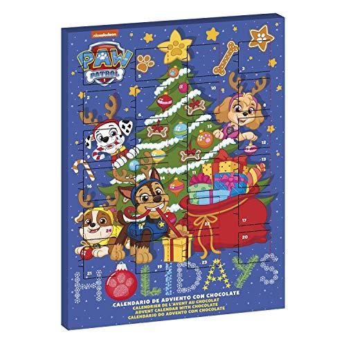 Paw Patrol Milchschokolade Adventskalender Weihnachten 2020 Feiertage Blau + Geschenk