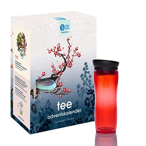 Shuyao Tee Adventskalender 24x loser Tee (rot)