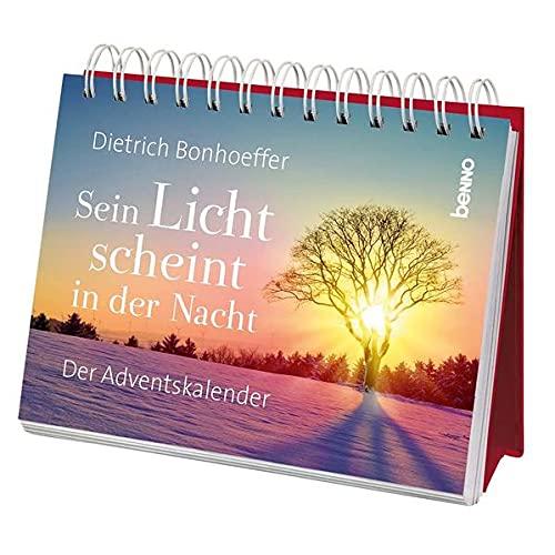 Sein Licht scheint in der Nacht: Der Adventskalender: Der Adventskalender. Aufstellbuch.