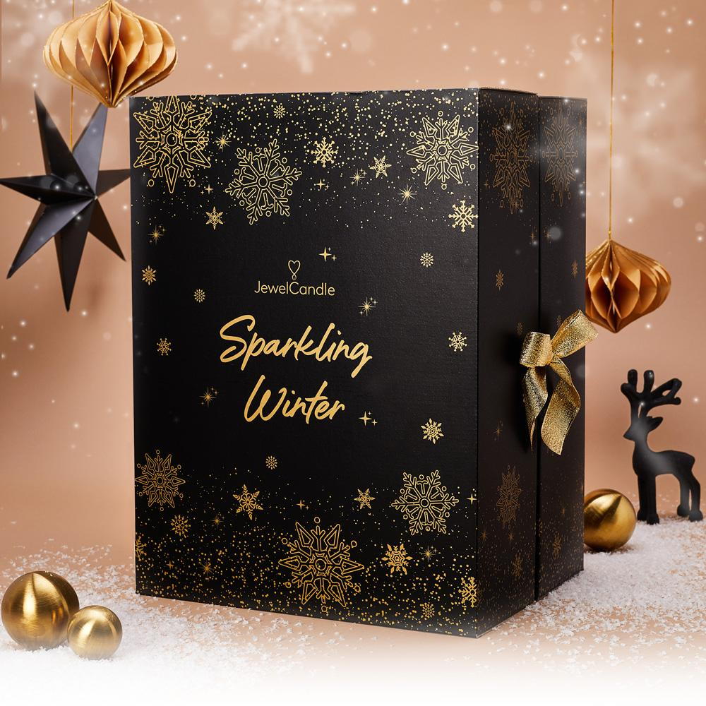 Sparkling Winter - Adventskalender von Juwelkerze