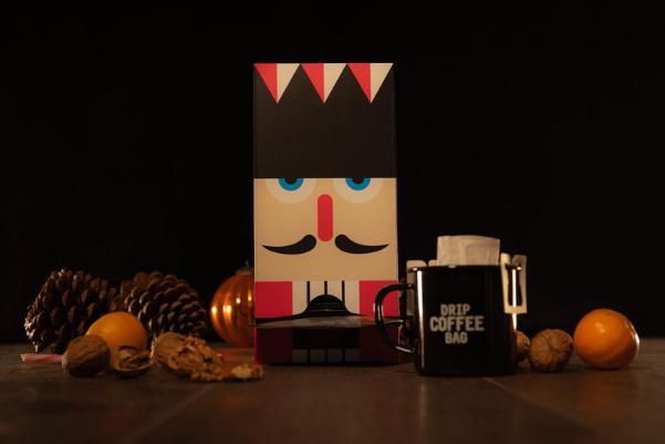 """Kaffee Adventskalender DRIP COFFEE BAG """"Nussknacker"""""""