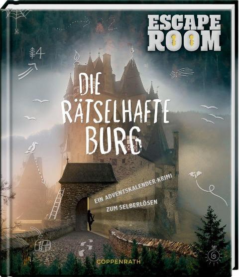Die rästelhafte Burg - Ein Adventskalenderkrimi zum Selberlösen