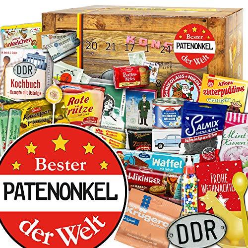 Bester Patenonkel - DDR Adventskalender - Weihnachtskalender für den Mann
