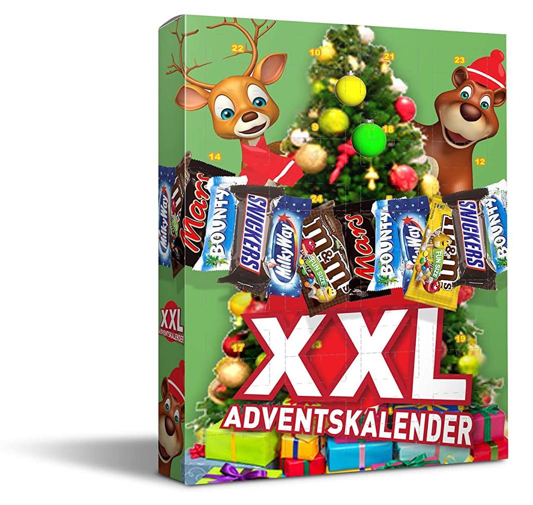 XXL-Adventskalender mit M&M friends