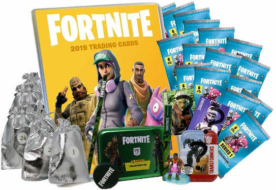 Fortnite Sammelkarten Deluxe Adventskalender 2019