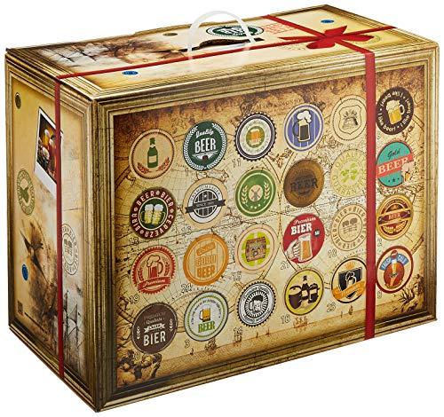Bier-Adventskalender, 24 Biere aus aller Welt, inkl. Geschenkbox (24 x 0.33 l) – detail 1