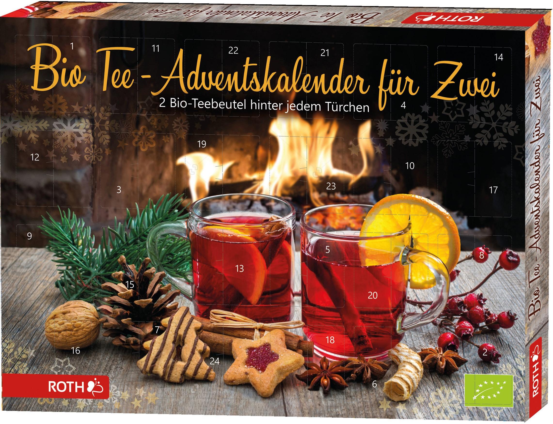 Bio-Tee Adventskalender für Zwei 2021