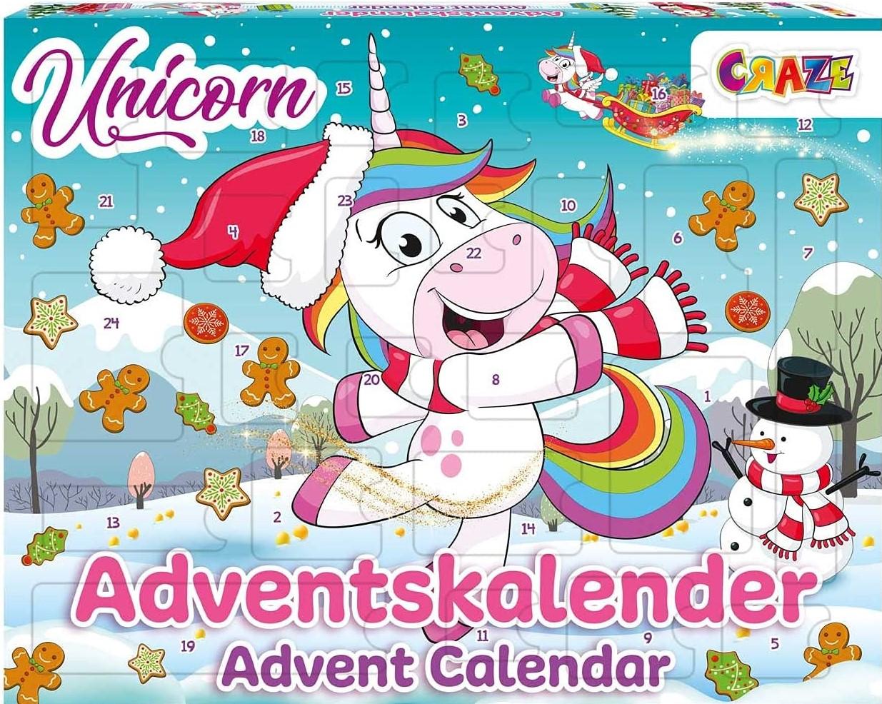 Craze Einhorn Adventskalender