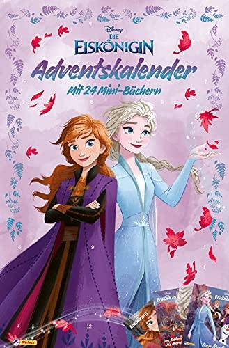 Disney Die Eiskönigin: Minibuch-Adventskalender: Mit 24 Mini-Büchern | Vorlesen, Malen und Rätseln (ab 3 Jahren) (Disney Eiskönigin)