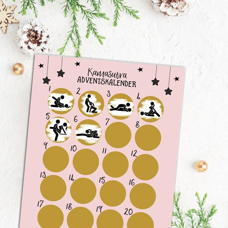 Kamasutra zum Rubbeln Adventskalender 2021