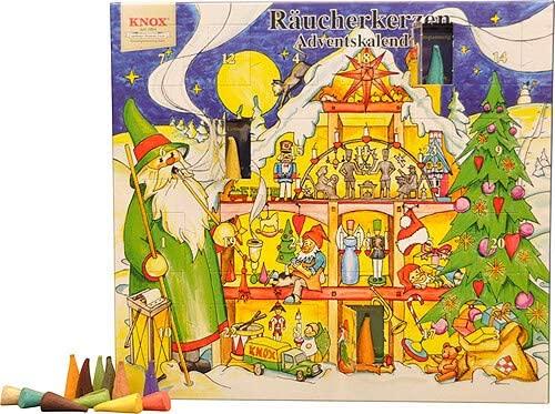Knox Räucherkerzen Adventskalender 2014