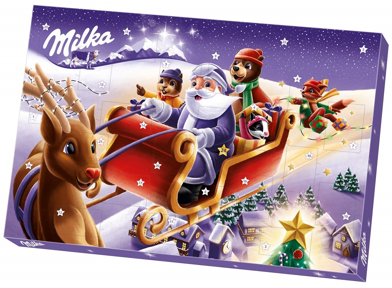 Milka Weihnachten ADVENTSKALENDER