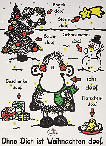 Ohne dich ist Weihnachten doof Adventskalender 2021 – detail 1
