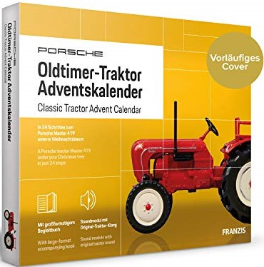 Oldtimer-Traktor Adventskalender 2020