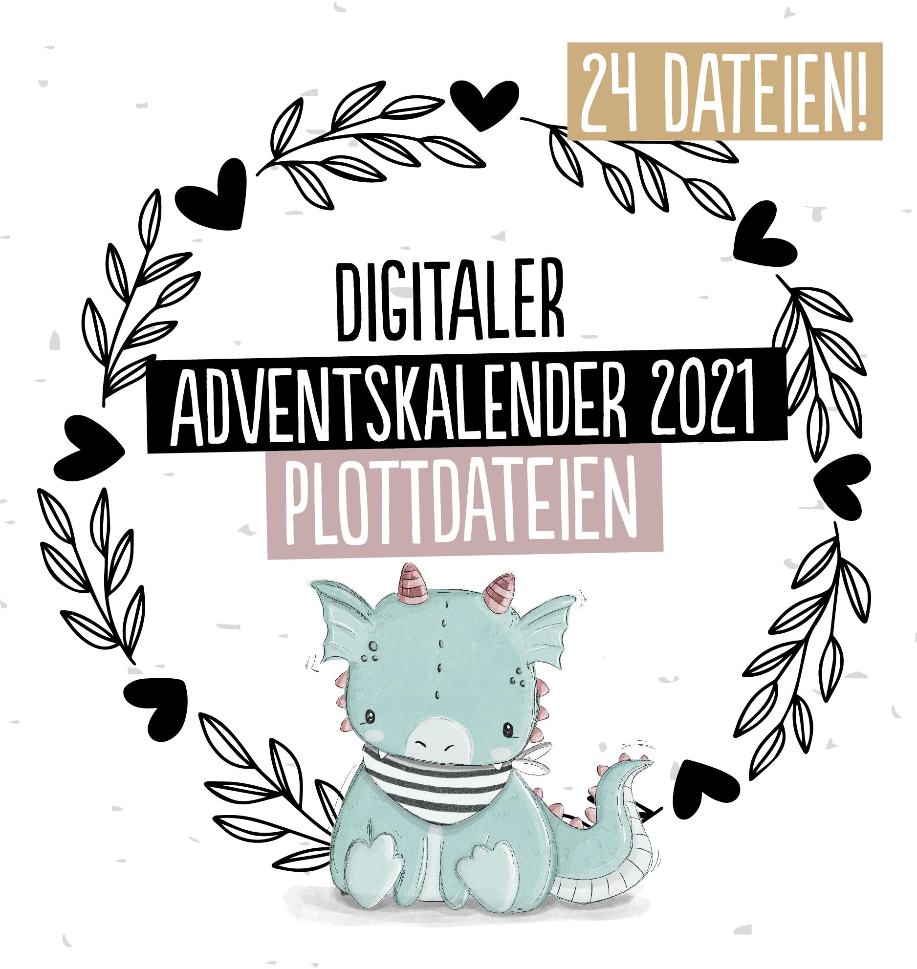 Plottervorlagen Adventskalender Paul & Clara 2021