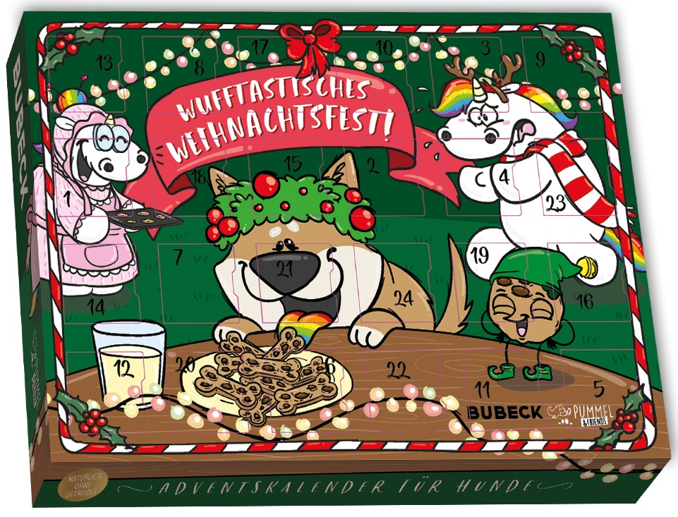 Pummeleinhorn Hunde Adventskalender
