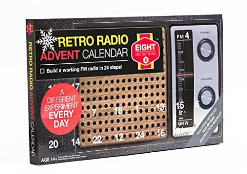 Acht Retro Radio Adventskalender