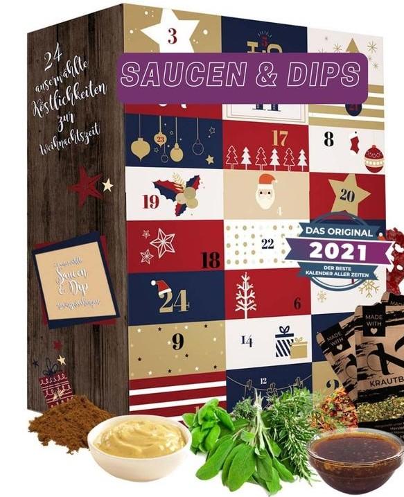 Saucen & Dips Adventskalender
