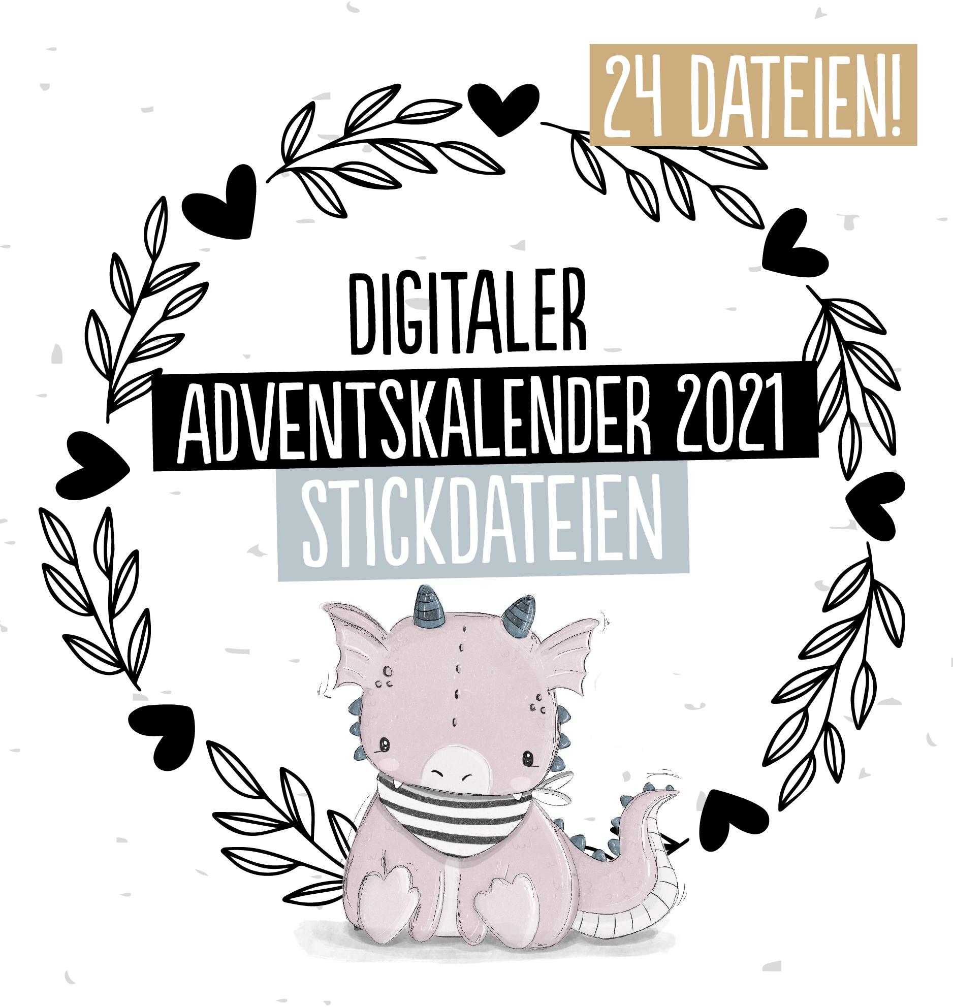 Stickdateien Adventskalender 2021