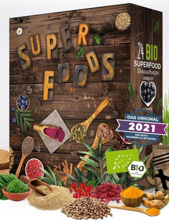 Superfoods Adventskalender