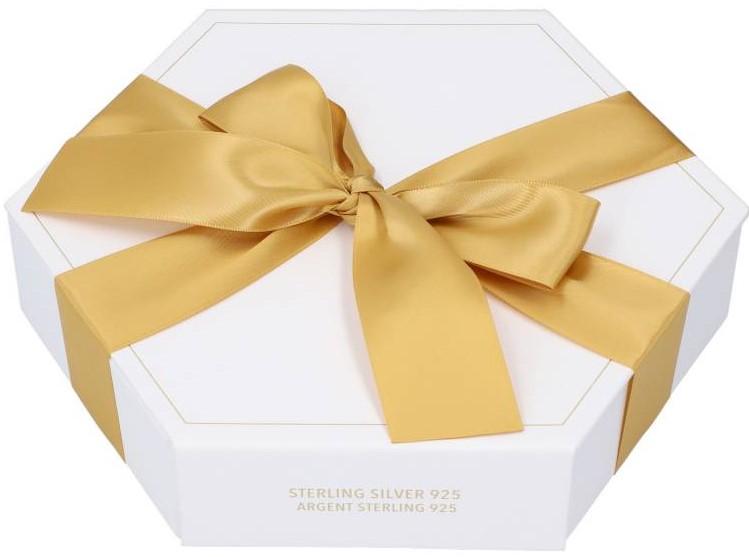 TOSH Luxury Ohrschmuck-Adventskalender Silber Gold Edition