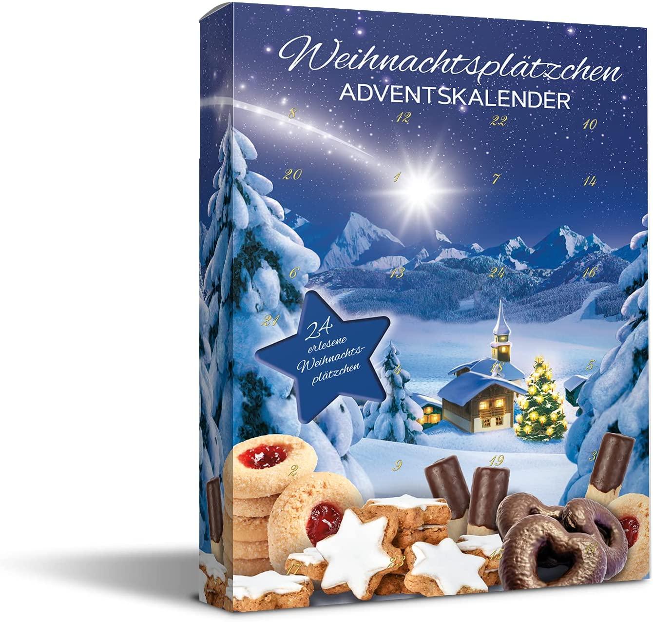 Weihnachtsgebäck Adventskalender