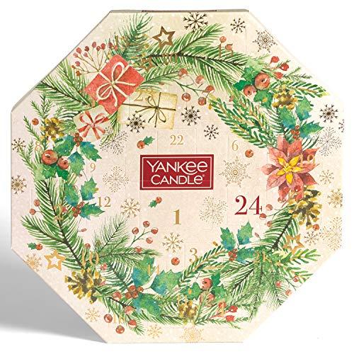 Yankee Candle Adventskalender 2020 im kranzförmigen Design – Yankee Candle – detail 2
