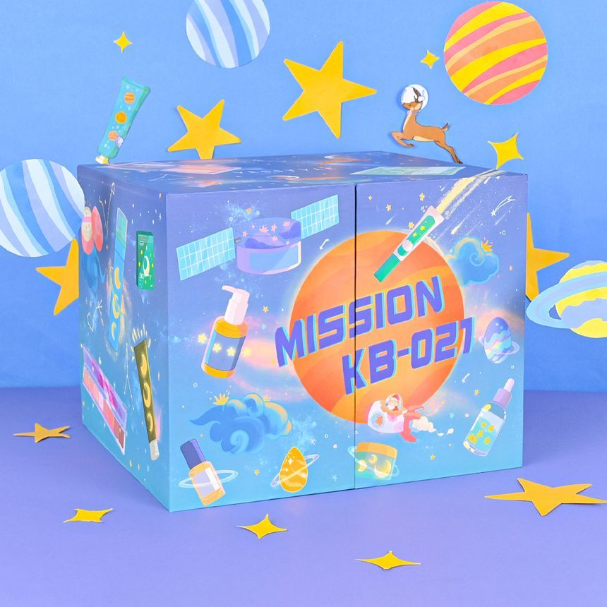 """YesStyle Beauty Box - """"Mission KB-021"""""""