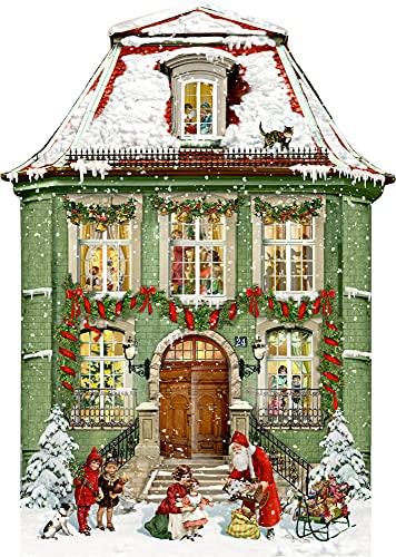A3-Wandkalender – Zauberhaftes Weihnachtshaus