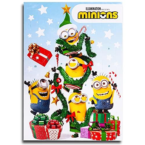 Minions Motiv D Schokoladen Adventskalender Vollmilch Schoko Weihnachts Kalender