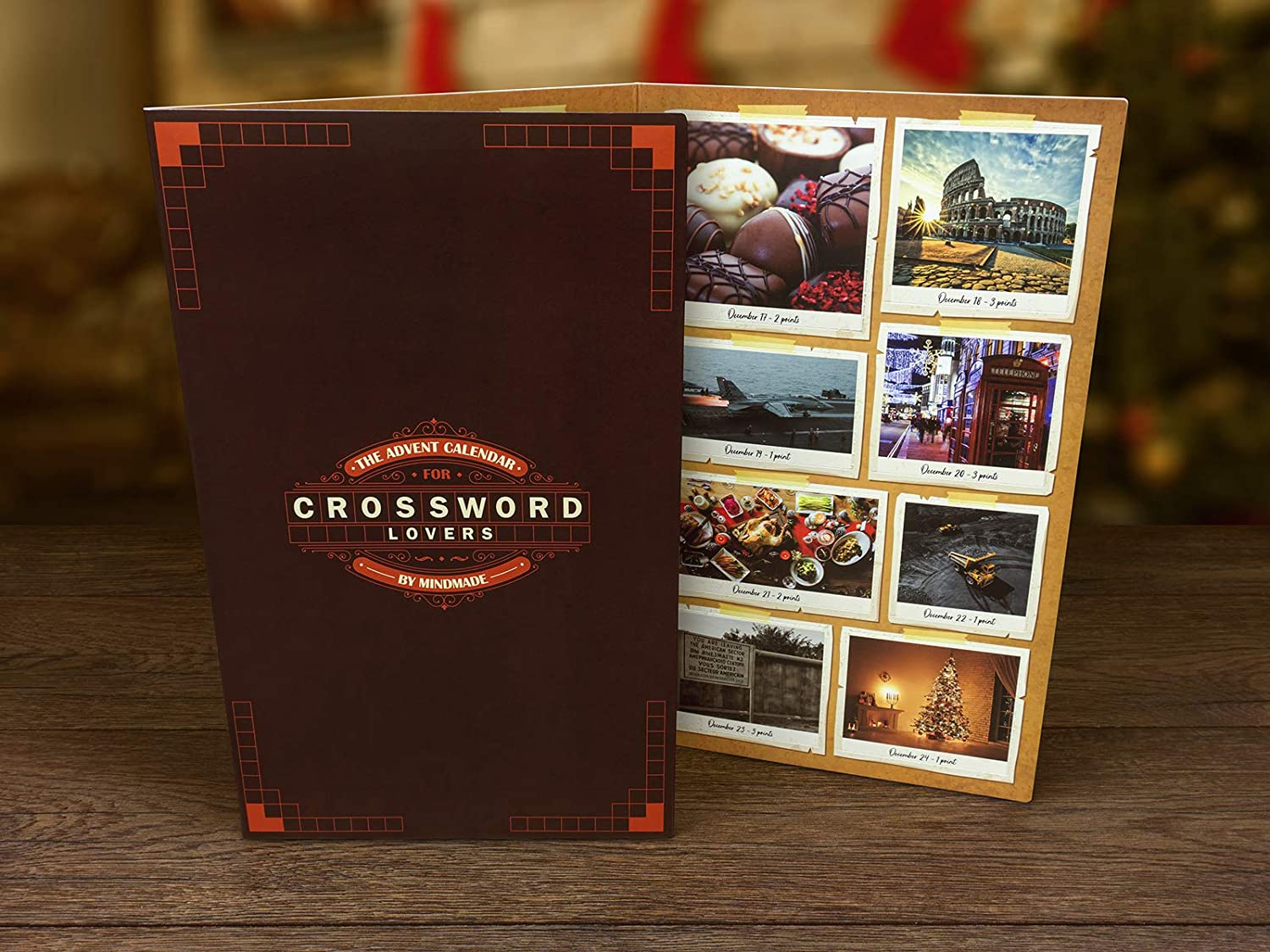 The Advent Calendar for Crossword Lovers by Mindmade