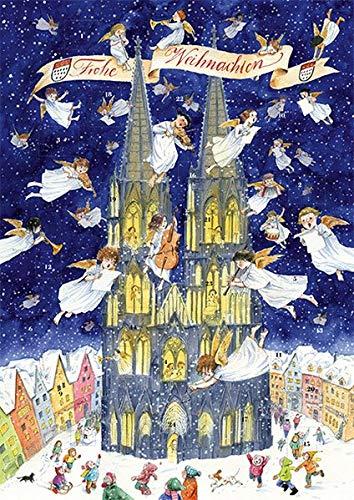 Adventskalender Köln: Adventskalender mit 24 Türchen zum Aufklappen