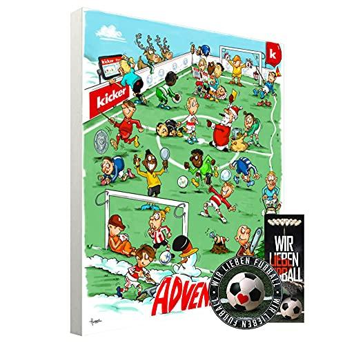 Adventskalender, Weihnachtskalender deines Bundesliga Lieblingsvereins 2021