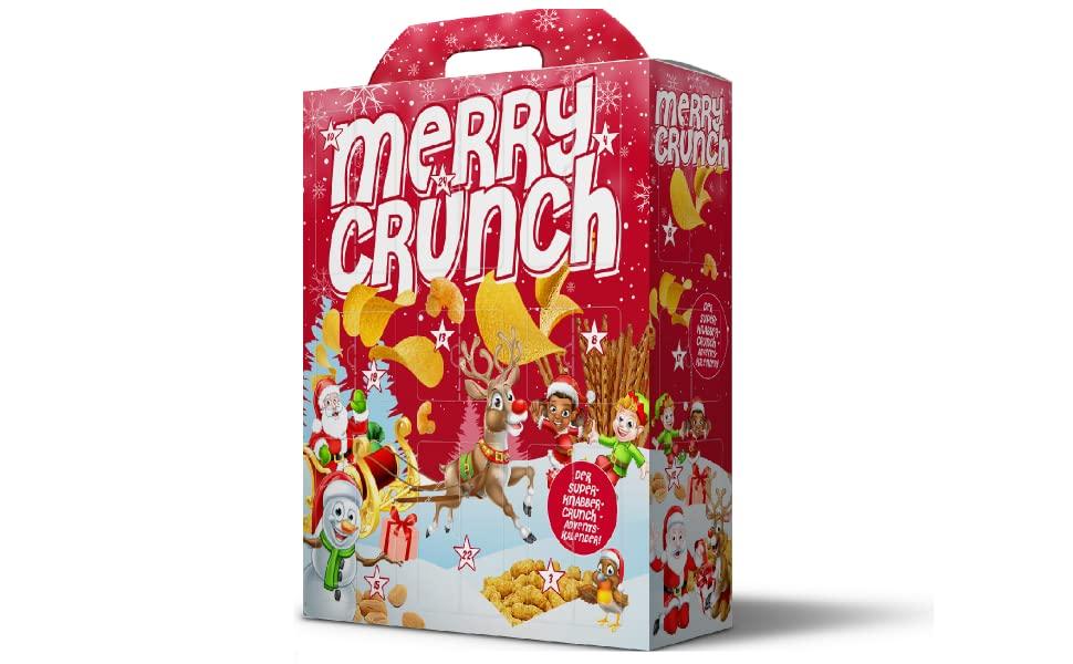 "Adventskalender ""Merry Crunch"""